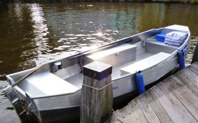 Boaty komplett offenes Mietboot Amsterdam