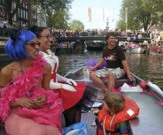 Kingsday Gay Pride Amsterdam Boaty Rental Boats