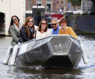 Rental boats Amsterdam Boaty