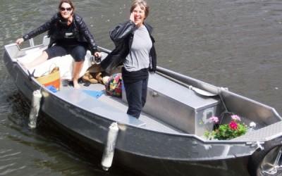 Open bootje huren bij Boaty Bootverhuur Amsterdam