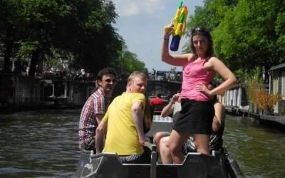 Boaty Fotowettbewerb Boot mieten Amsterdam