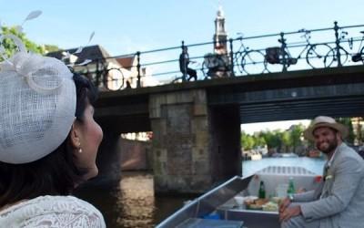 Fluisterboot huren Amsterdam zelf varen Boaty