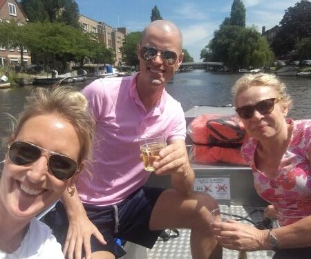 Bootje huren Amstel Boaty