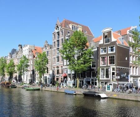 Vaarroutes Amsterdam Grachtengordel