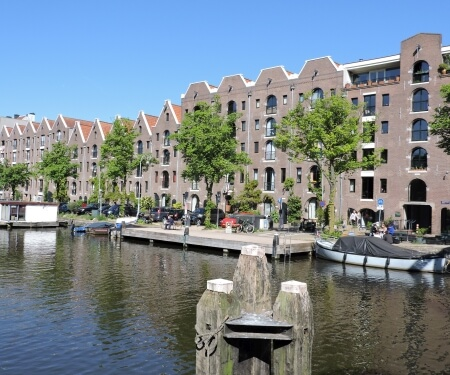 Vararroute door Amsterdam Plantagebuurt Entrepotdok