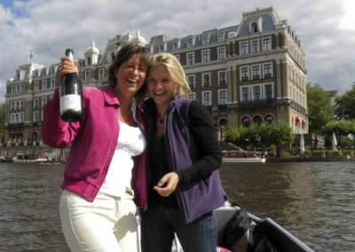 Winnaar fotowedstrijd boothuur Amsterdam