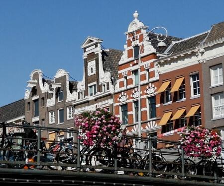 Sloepverhuur vaartocht centrum Amsterdam