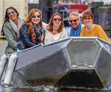 Bootverhuur Amsterdam voor zelf varen op de grachten Boaty
