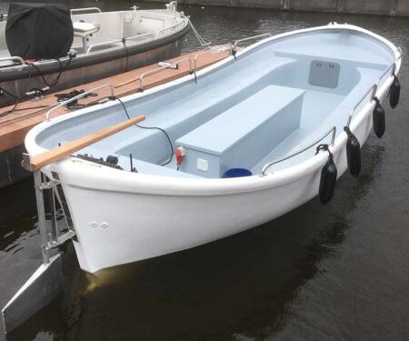 Sloep huren met schipper  Amsterdam