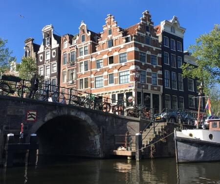 Vaarroutes Amsterdamse grachten voor sloepje Boaty
