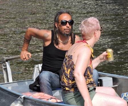 Zelf boot varen Amsterdam Boaty fluisterboot