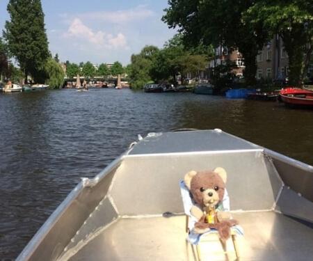 Zelf varen Amsterdam Corona Route