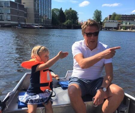 Amsterdam bootje varen